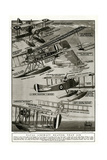 Seaplanes of 1918 Giclee Print by S.W. Clatworthy