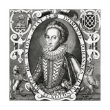 John Harington of Exton Giclee Print by Renold Elstracke