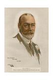 Kung George V Gicléetryck av Sir John Lavery