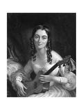 Anne Maria Hughes Giclee Print by Sir George Hayter