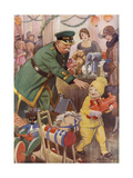The Shop Lifter by Stanley Lloyd Giclee Print by Stanley Lloyd