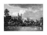 Eton on Thames Giclee Print by Paul Sandby