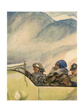 Joys of an Open-Top Giclee Print by Paul Rieth