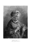 Harriet Beecher Stowe Giclee Print by T Johnson