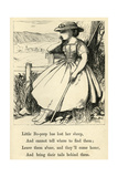 Little Bo-Peep Giclee Print by T. Dalziel