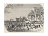 Naples, Santa Lucia 1861 Giclee Print by S.C. Sargent