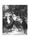 Third Act of the Play Chantecler by Rostand, 1910 Giclee Print by Rene Lelong