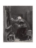 Titian Painting Premium Giclee Print by Robert Fleury