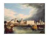 The Admiral's Regatta, Greenwich Giclee Print by Robert Havell