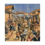China, Bandits, Chan-Shi Giclee Print by R. Moritz