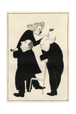 The General Election, 1924 Giclee Print by Powys Evans