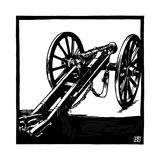 Krupp 6-Pounder Gun 1851 Giclee Print by Robert Engels