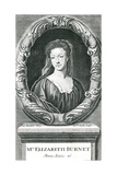 Elizabeth Burnet Giclee Print by Godfrey Kneller