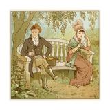 Lovers Tiff Lámina giclée por Robert Dudley