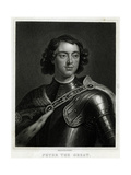 Peter I, Kneller, Smith Giclee Print by Godfrey Kneller