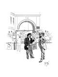 Street Music: Unfair Competition, 1892 Giclee Print by Phil May