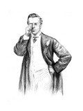 Jos Chamberlain Monocle Giclee Print by Paul Renouard