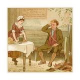 Ale at Public House Lámina giclée por Robert Dudley