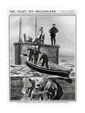 Heligoland Submarine Rescue Giclee Print by Paul Renouard