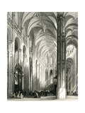 Paris, France - Eglise Saint Eustache Giclee Print by T. Turnbull