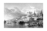 France, Saumur Giclee Print by T. Turnbull