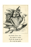 Mother Goose Giclee Print by T. Dalziel
