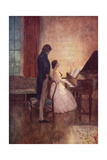 Couple at the Piano Giclee Print by Norman Price