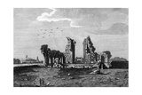 Glastonbury Abbey Giclee Print