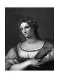 La Fornarina Giclee Print by Raffaello Sanzio