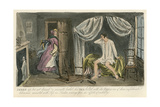 Madam Steals Clothes Giclee Print by Robert Cruikshank
