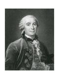 Georges-Louis Leclerc, Comte de Buffon Giclee Print by Robert Hart