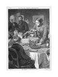 Birthday Cake Cut Giclee Print by Robert Barnes