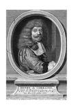 Henri Comte Harcourt Giclee Print by Nicolas Mignard
