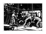 Krupp: Steel Rolling Giclee Print by Robert Engels