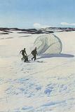 Landing in Norway Reprodukcja zdjęcia autor Unsere Wehrmacht