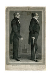 Joseph and Hiram Smith, Pioneers of Mormonism Giclee Print by S Maudsley