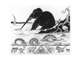 The Elephant's Child Giclee Print by Rudyard Kipling