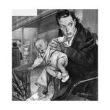 French Baby Stolen Giclee Print by Rino Ferrari
