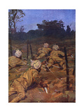 Sikh Soldiers in France During the First World War Giclee Print by WRS Stott