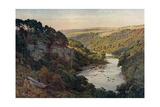 Cumbria, Eden River 1909 Giclee Print by Sutton Palmer