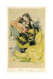 Sarah Bernhardt Giclee Print by Theobald Chartran