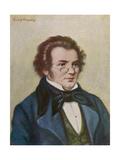 Franz Schubert Giclee Print by Rudolf Klingsbogl