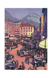Grenoble, France Giclee Print by Roger Broders