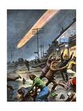 Meteorite Gicléetryck av Vittorio Pisani