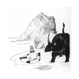 How the Rhino Got His Skin Giclee Print by Rudyard Kipling