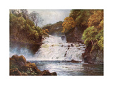 Clyde, Falls, Lanark Giclee Print by Sutton Palmer