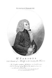 Parsons as Alscrip Giclee Print by S Harding