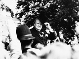 Winston Churchill Photographic Print by Thomas Fall