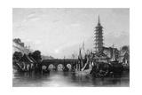 China Nanjing Giclee Print by Thomas Allom