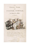 Dr Syntax with Musicians Giclee Print by Thomas Rowlandson